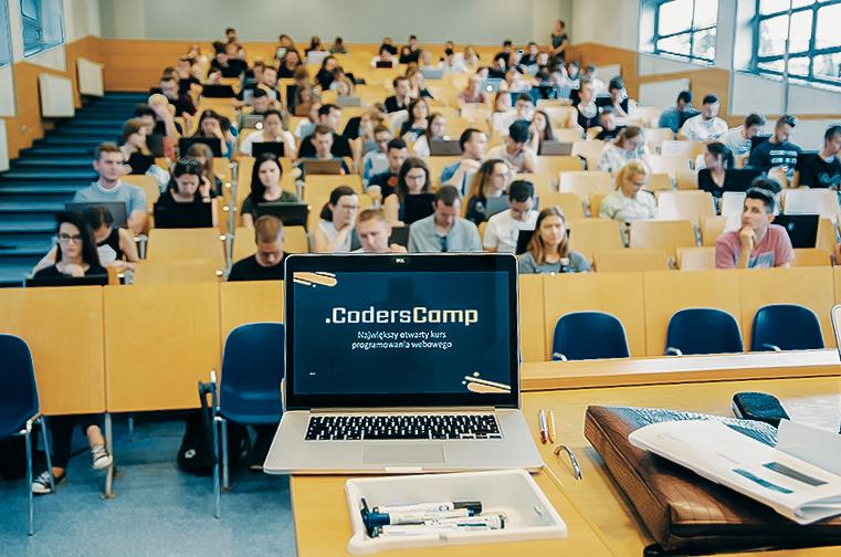 CodersCamp - największy otwarty kurs programowania webowego